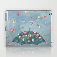I Wished for a Rose Rain for You Laptop & iPad Skin