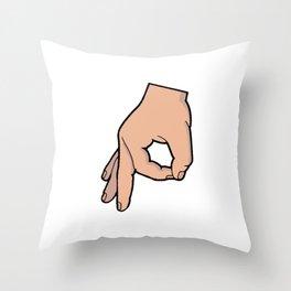 The Circle Game Throw Pillow