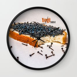 Yogi 80 level snack Wall Clock