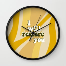 Restore Wall Clock
