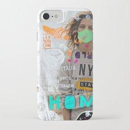 S T A Y   H O M E  iPhone Case