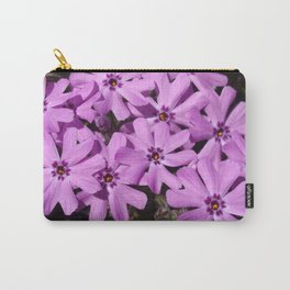 Phlox Flowers Carry-All Pouch