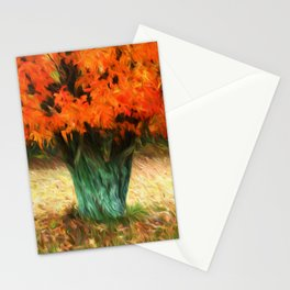 Van Gogh Autumn Stationery Cards