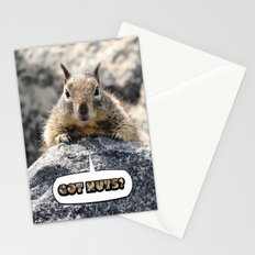 Got Nuts? Stationery Cards