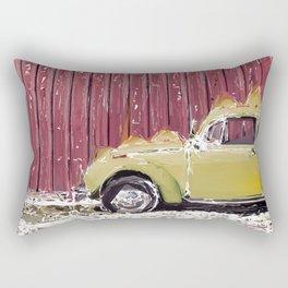 Old Bee Rectangular Pillow