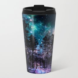 One Magical Night... teal & purple Travel Mug