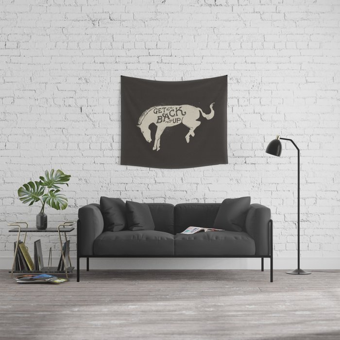Get Back Up  Wall Tapestry