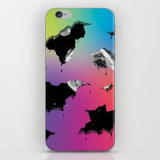 Cosmic Matter and the Neon Spectrum iPhone & iPod Skin