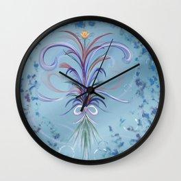 Spring bouquet Romance, Flowers Wall Clock