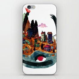 Wold in my back iPhone Skin