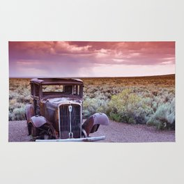 Painted desert, Arizona. Rug