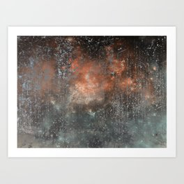 Fire beyond the Ashes Art Print