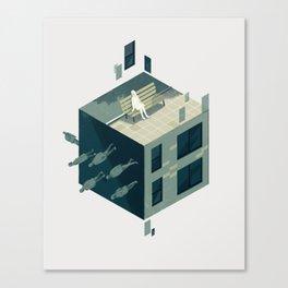 Cube 01 Canvas Print