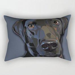 Jeb Lab Dog Rectangular Pillow