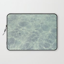 Clear as water Laptop Sleeve