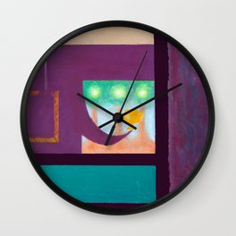 Window Seat Wall Clock