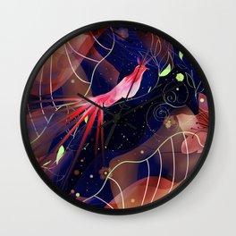 Le Jardin Secret Wall Clock
