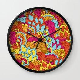Shabby flowers #19 Wall Clock