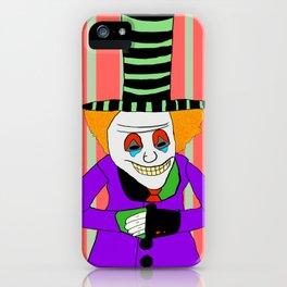 Mr. Clown iPhone Case