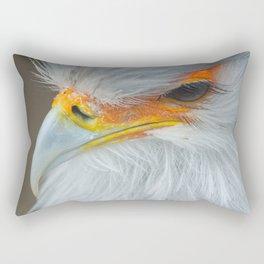 Feathers and eyelashes Rectangular Pillow