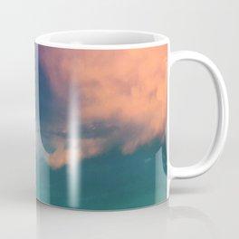 Dramatic Sunset Sky - pink purple and aqua cloudscape Coffee Mug