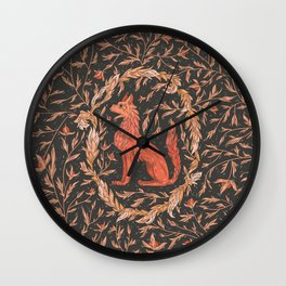 Mythical Beast 1 Color Wall Clock