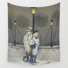 Midnight in Paris Wall Tapestry