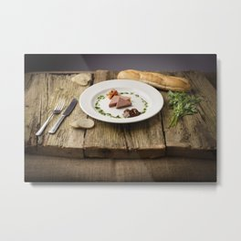 Pate Anyone? Metal Print
