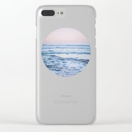 Pacific Ocean Waves Clear iPhone Case