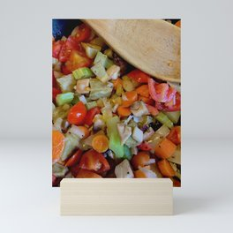 Veggies Mini Art Print