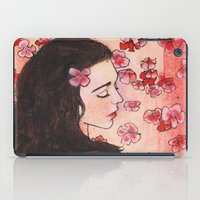 snow white iPad Cases featuring Snow White by Sarah Larguier