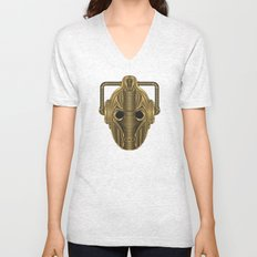Doctor Who Cyberman Unisex V-Neck