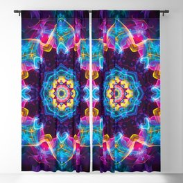 Mandalas from the Depth of Love 30 Blackout Curtain