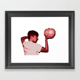 Congested Baby Second Album Cover Framed Art Print