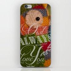 Wise Feelings iPhone & iPod Skin