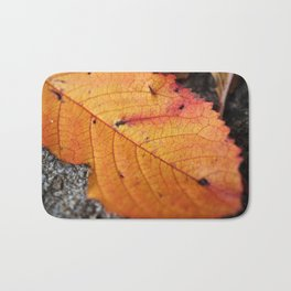 Autumn Leaf Bath Mat