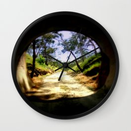 Cheviot Tunnel Wall Clock