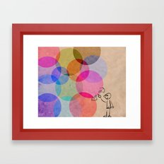 Pop!! Framed Art Print