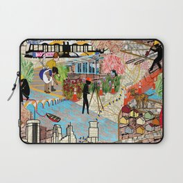 Urban Sightings Collage Laptop Sleeve