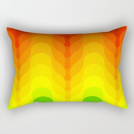 Reggae feel Rectangular Pillow