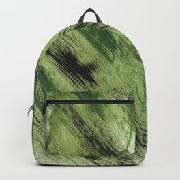 Abstract green painting Backpack
