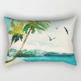 Palm Trees 1 Rectangular Pillow