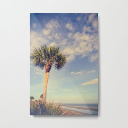 Palm Tree Paradise Metal Print