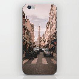 Vintage Paris, France (Color) iPhone Skin
