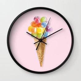 Candy Icecream Wall Clock