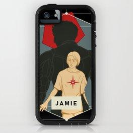 Jamie Legacy Silhouette iPhone Case