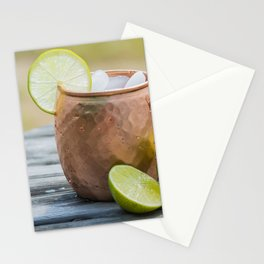 Refreshing Moscow Mule Stationery Cards