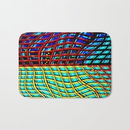 Collapsing Skyscraper Bath Mat