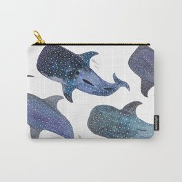 Whale Shark Pattern Party Carry-All Pouch