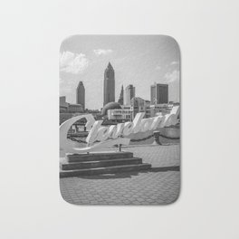 Cleveland, Ohio Bath Mat
